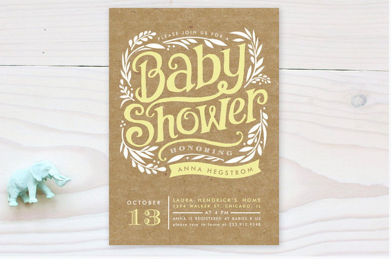 Gender neutral rustic baby shower invitations rustic baby chic rustic baby shower invitation filmwisefo
