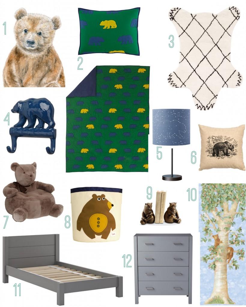 Baby Bear Kids Room
