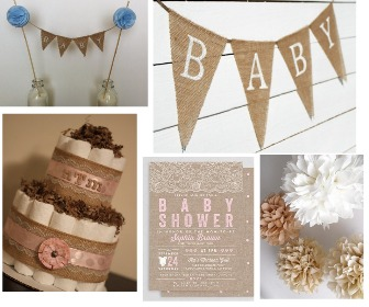 Rustic Baby Shower - Ideas, Centerpieces and Favors for ...