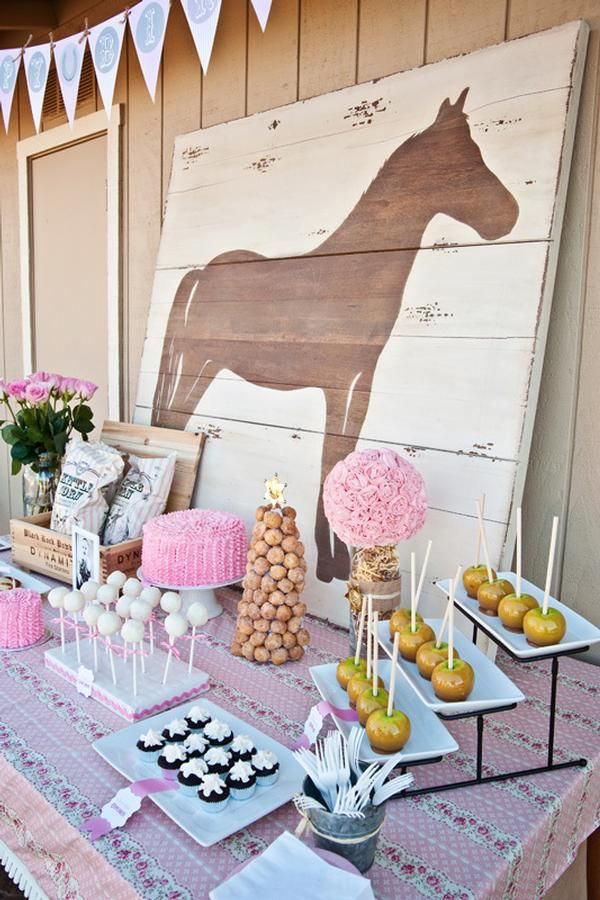 10 Rustic Kids Birthday Party Ideas