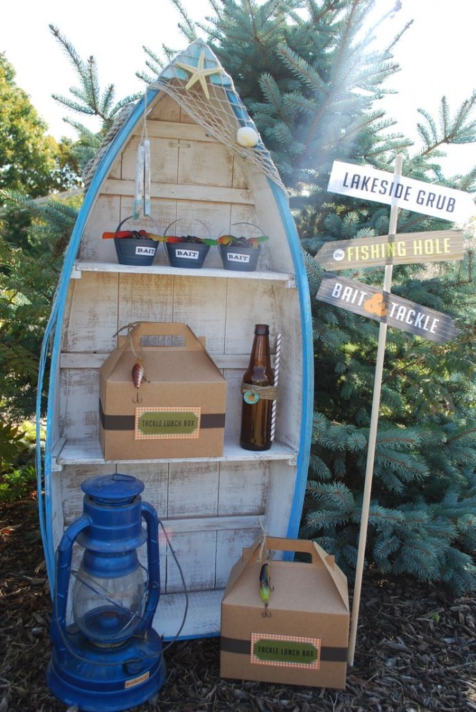 10 rustic kids birthday party ideas rustic baby chic for Fishing birthday party
