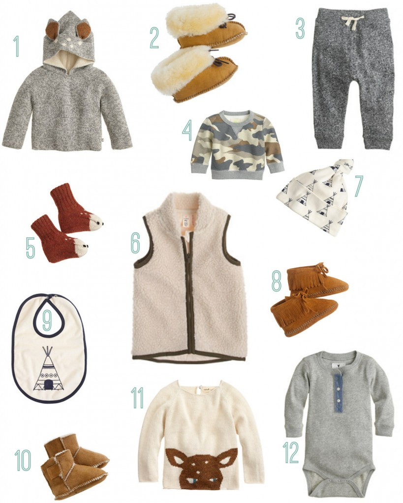 Our favorite rustic baby looks from j crew rustic baby chic