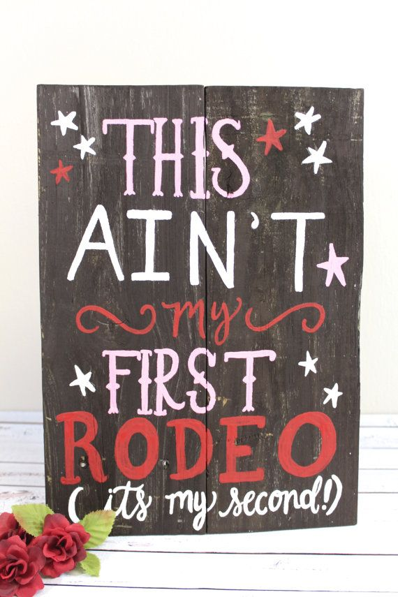 Rodeo Birthday Party Sign
