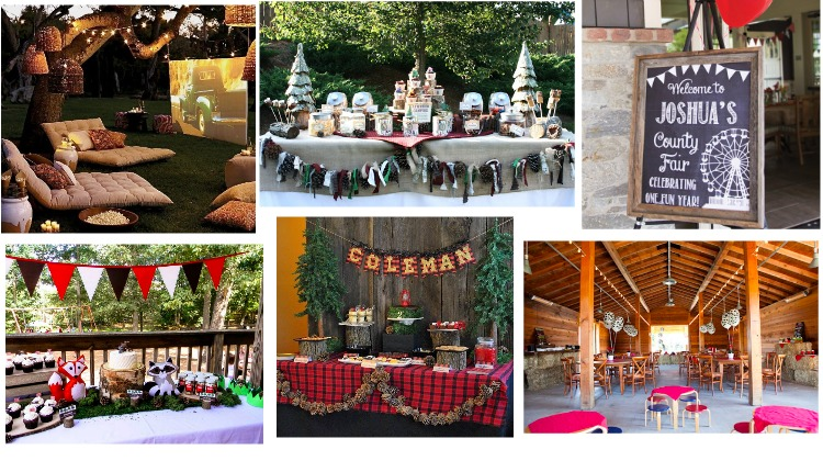 10 Rustic Kids Birthday Party Ideas Baby Chic