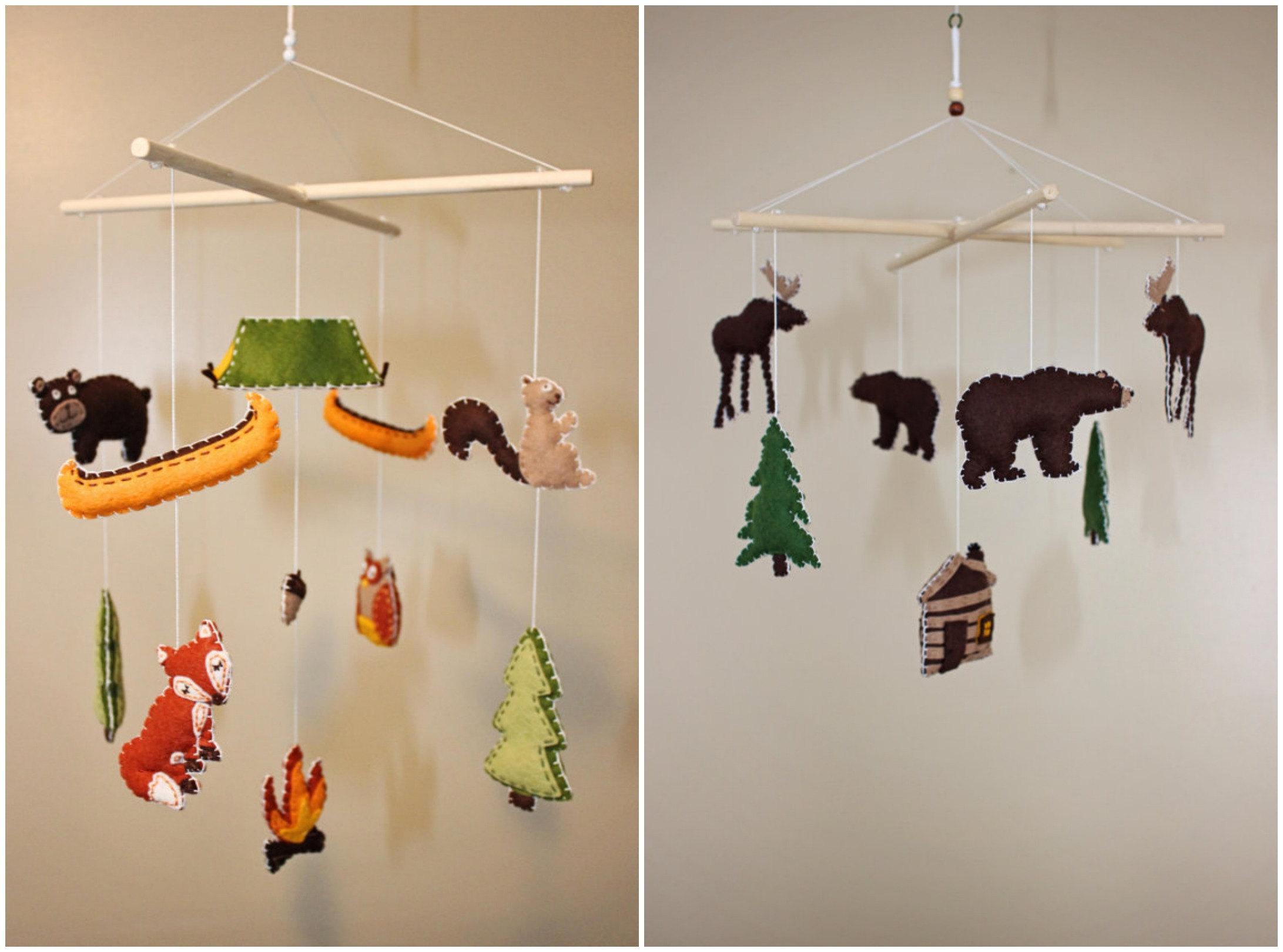 Mobiles For A Rustic Baby Nursery Rustic Baby Chic