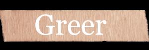 Greer Girls Name