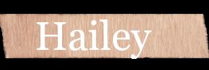 Hailey Girls Name