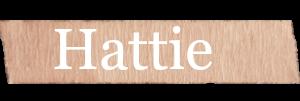 Hattie Girls Name