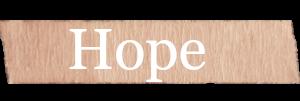 Hope Girls Name