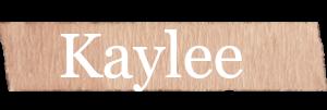 Kaylee Girls Name