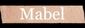 Mabel Girls Name