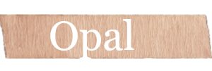 Opal Girls Name