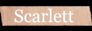 Scarlett Girls Name