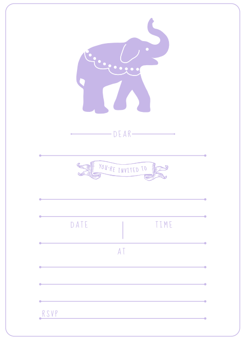 Screen Shot 2014-11-12 at 7.01.18 Purple Tea Party Birthday Party Invitation