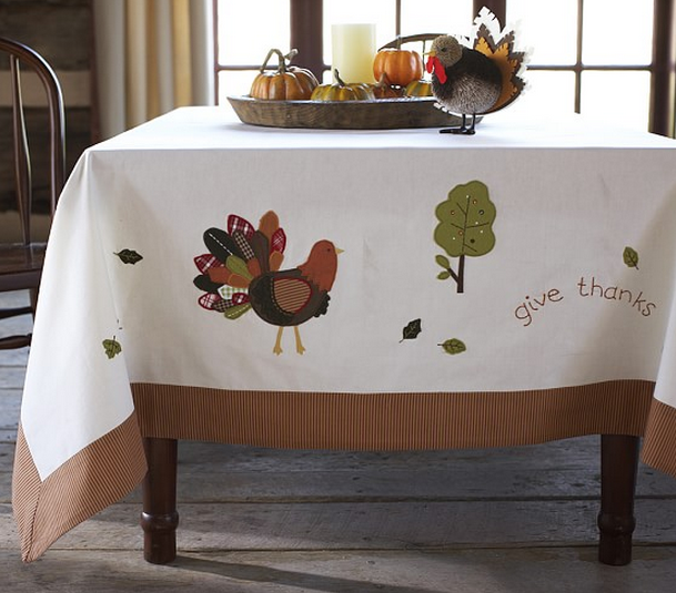 Thanksgiving Kids Table Decorations
