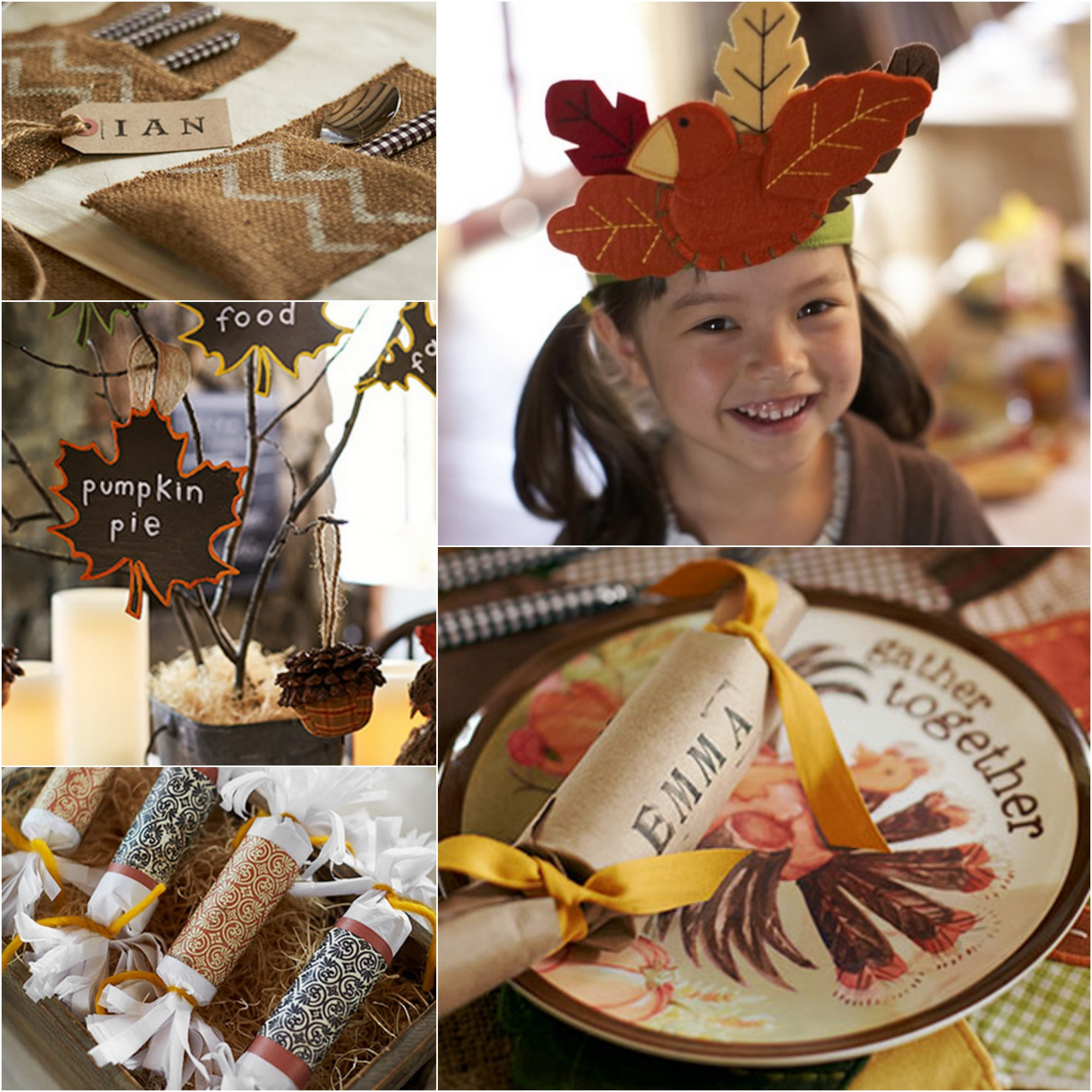 Creating The Perfect Kids Thanksgiving Table Rustic Baby