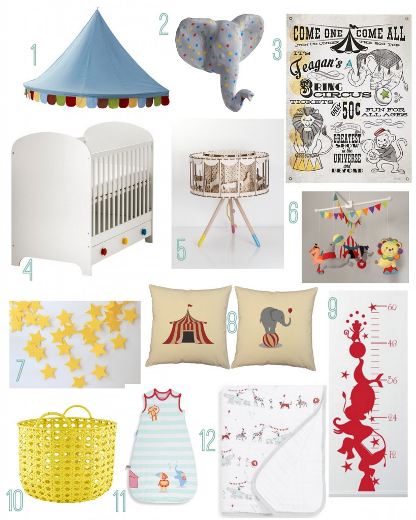 Circus Themed Nursery