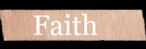 Faith Girls Name