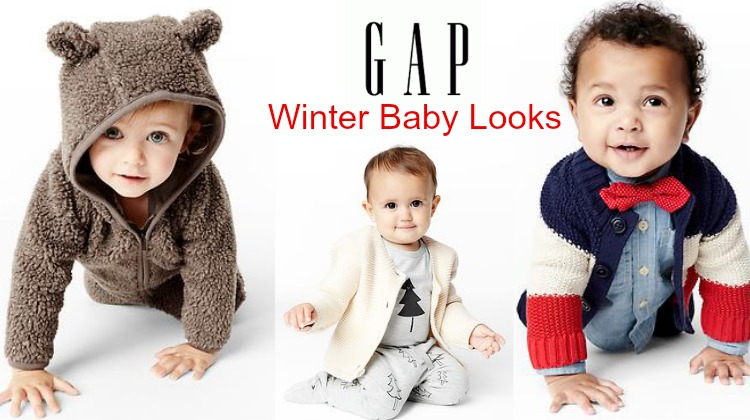 Rustic Winter Baby Looks From Gap - Rustic Baby Chic