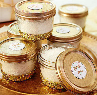 Gold Baby Shower - Rustic Baby Chic