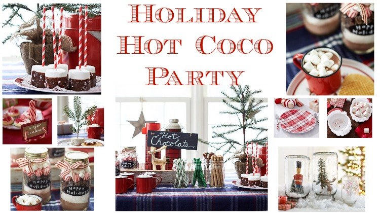 Holiday Hot Coco Party How To