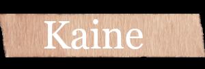 Kaine Boys Name