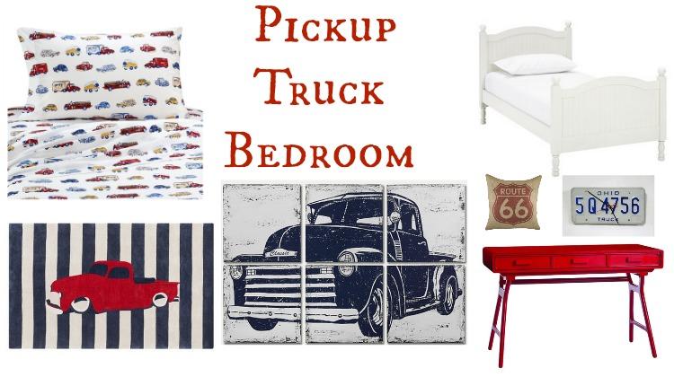 Pickup Truck Bedroom