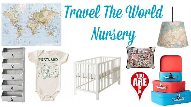 Travel Nursery Decoration Ideas
