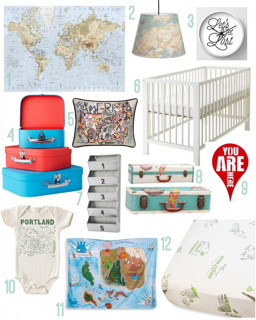 Travel Theme Nursery