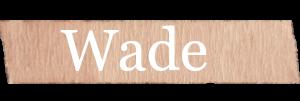 Wade Boys Name