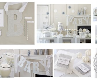 baby shower ideas centerpieces and favors for having a rustic baby