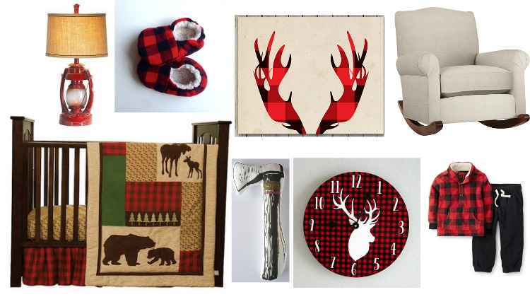 Buffalo Plaid Kids Rooms