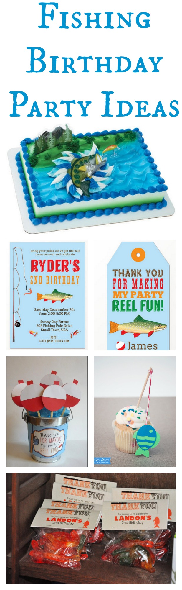 Fishing boys birthday party rustic baby chic for Fishing party ideas