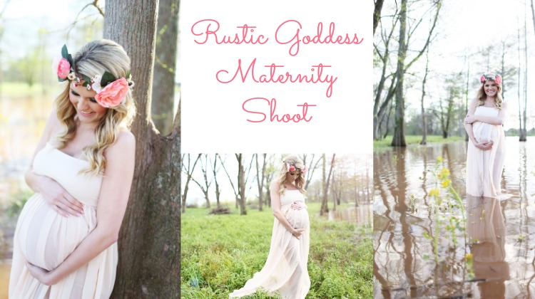 Rustic Style Maternity Shoot