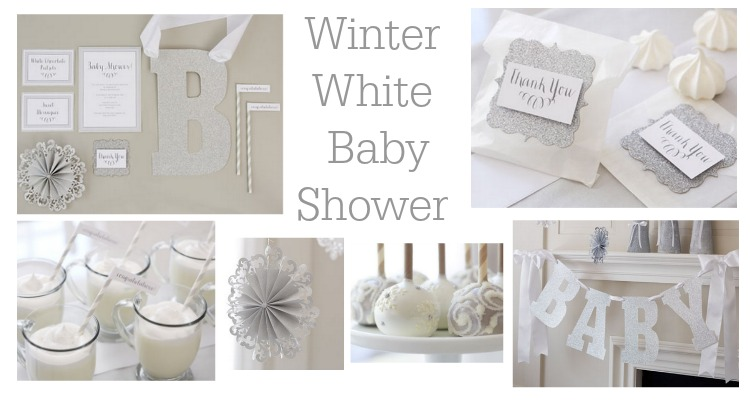 Winter White Baby Shower