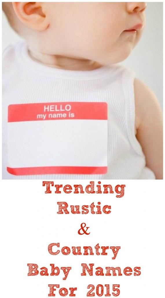 2015 Trending Baby Names