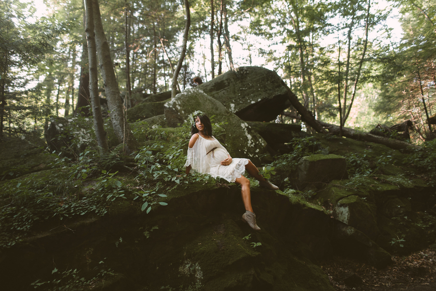 Nature Maternity Session