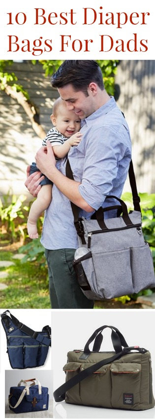 10 best diaper bags for dads rustic baby chic. Black Bedroom Furniture Sets. Home Design Ideas