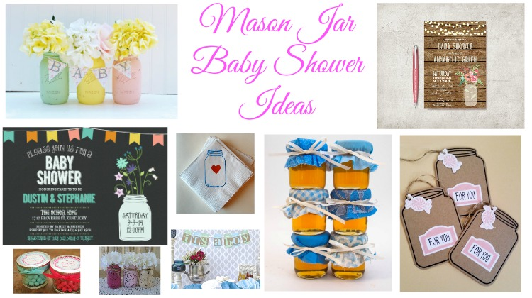 Latest Baby Shower Ideas Using Mason Jars