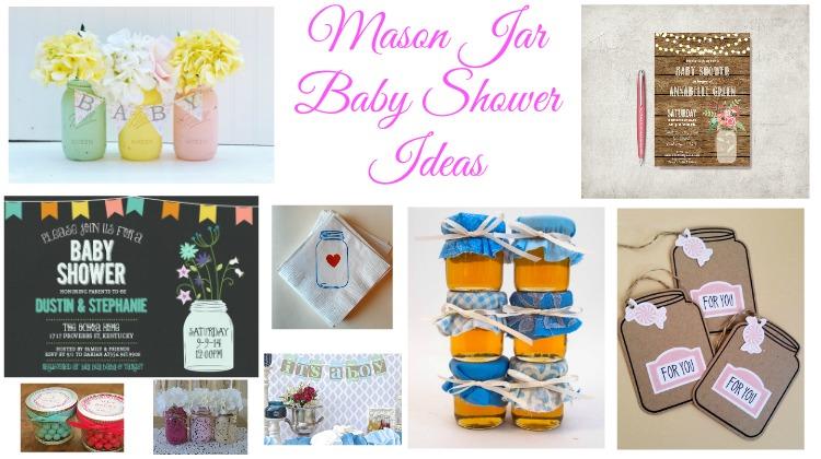 mason jar baby shower ideas
