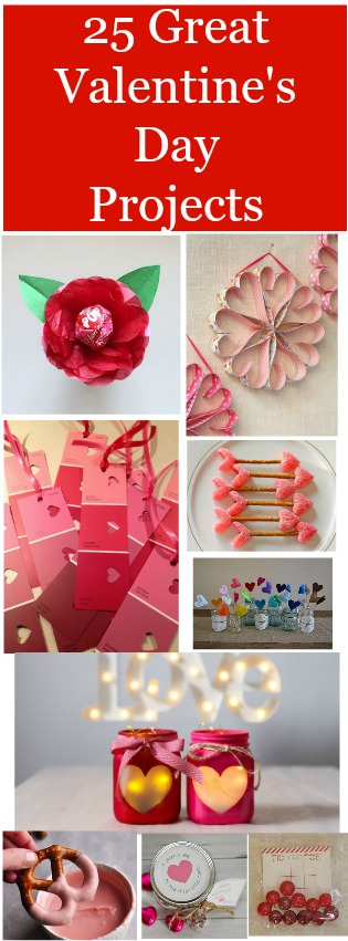 Projects For Valentine's Day