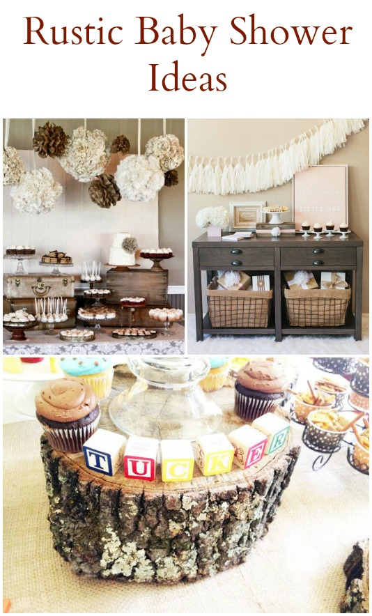 Great 20 Rustic Baby Shower Ideas