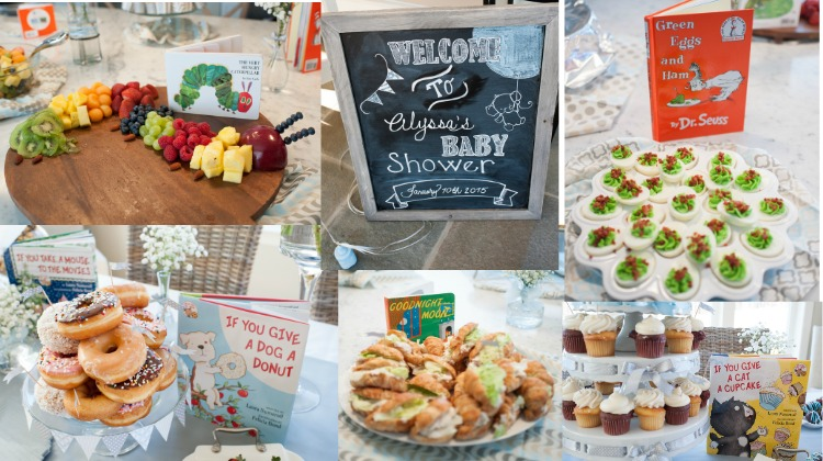 Storybook Baby Shower Rustic Baby Chic