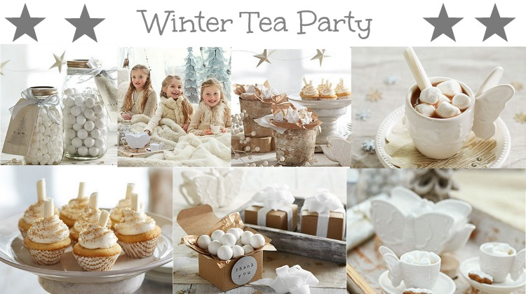 Winter Tea Party Rustic Baby Chic