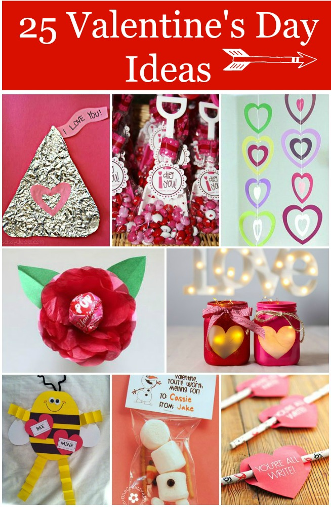 25 Great Valentine's Day Craft Ideas - Rustic Baby Chic
