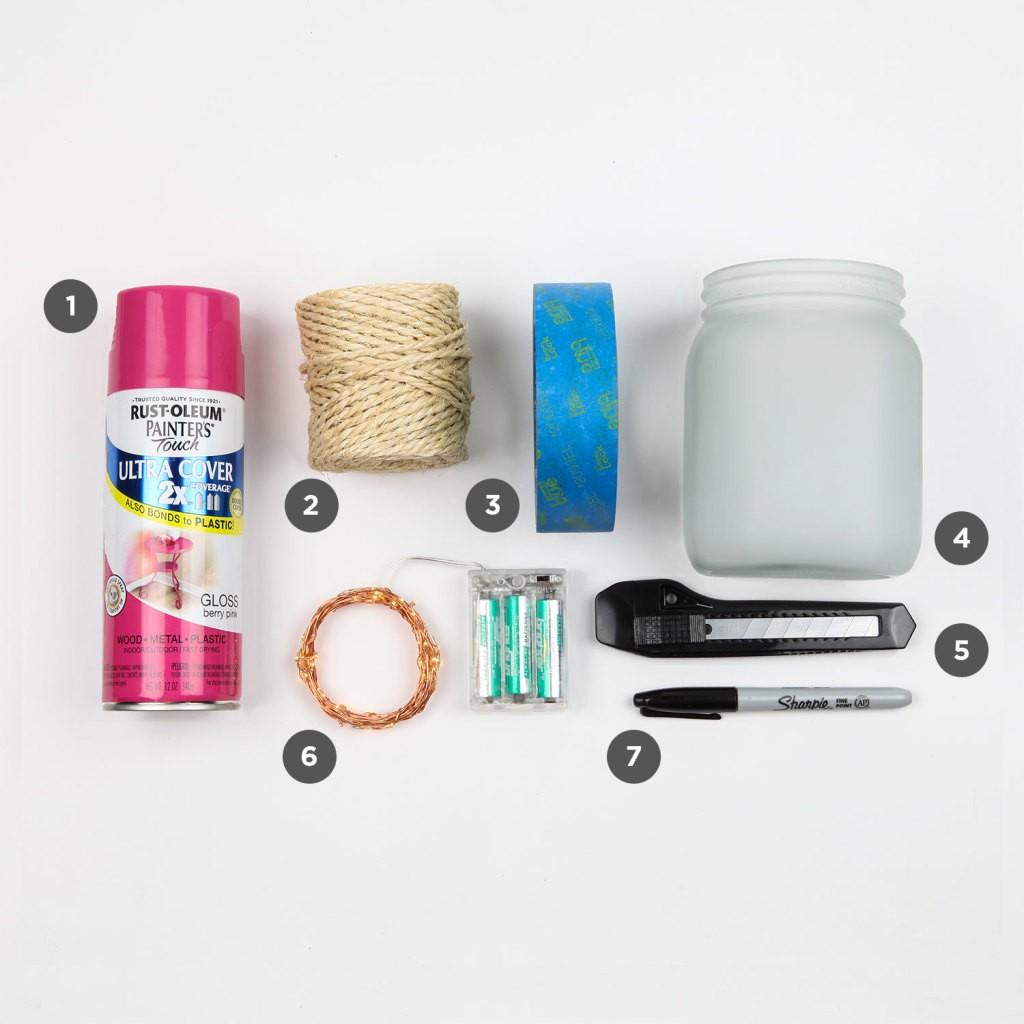 DIY Heart Mason Jar Project