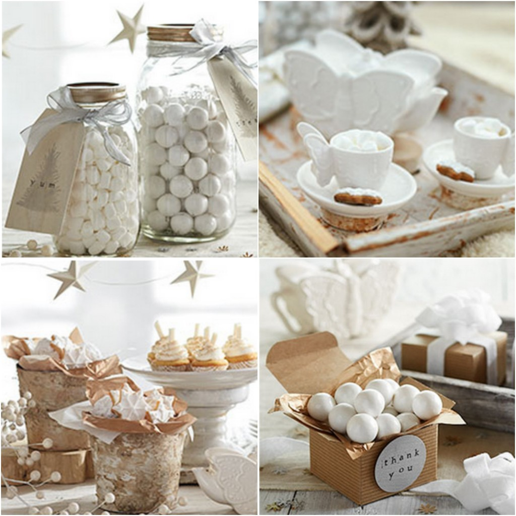 Winter Tea Party Rustic Baby Chic