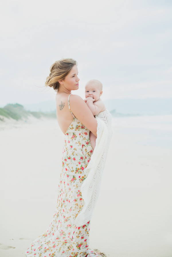 Mom & Baby Beach Photo Session