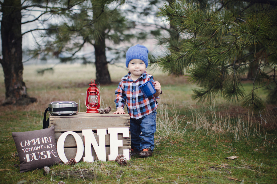 Rustic First Birthday Party