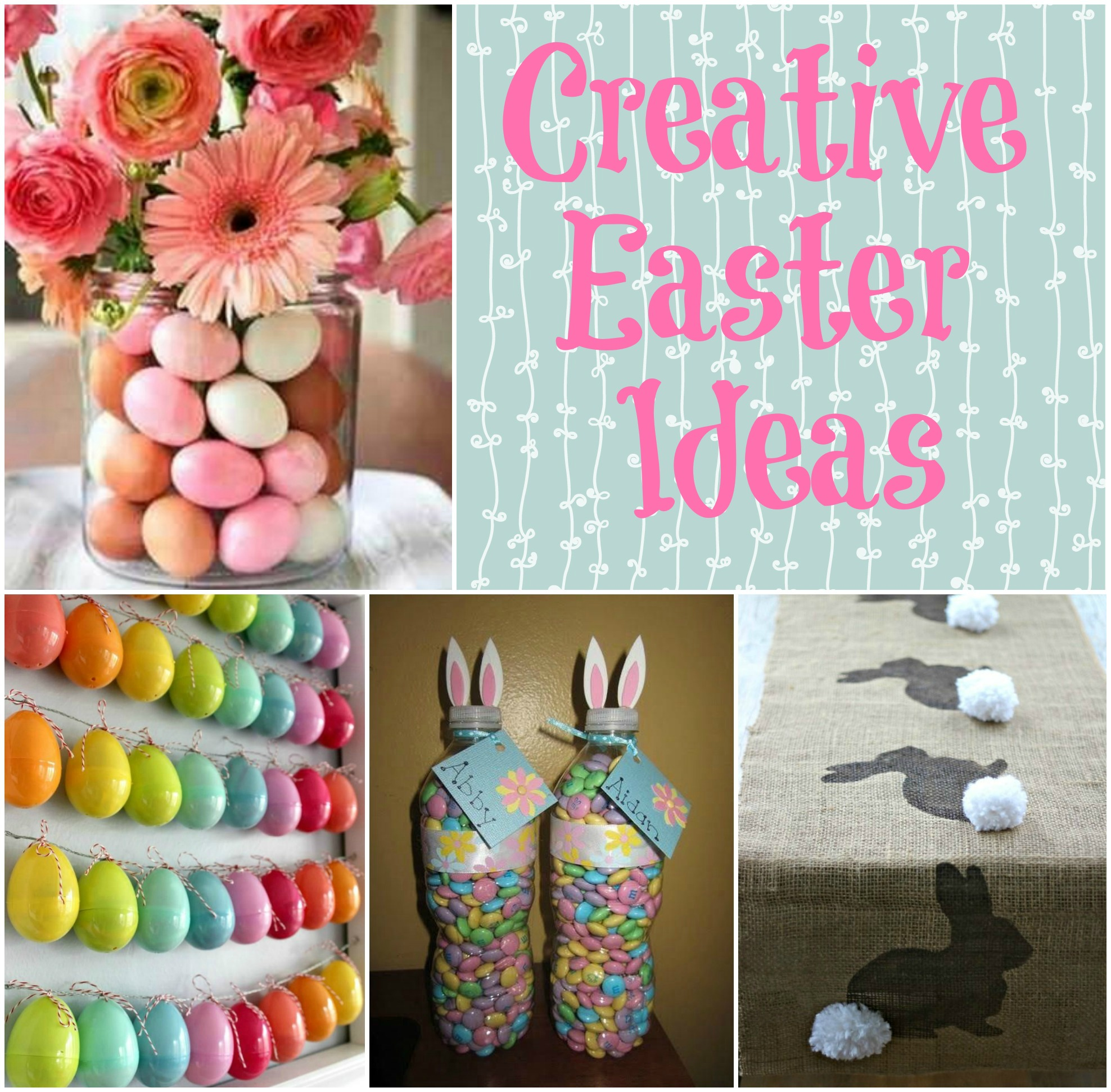 Rustic Wedding Cake Display: 25 Creative Easter Projects & Ideas